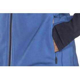 Icebreaker M's Quantum LS Zip Hood sea blue/midnight navy